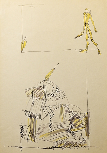Aurel Acasandrei (1939 - 2006) - Singurătatea unui personaj / Loneliness of a character