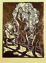 HUBNER CAROL ( 1902-1981 ) Forjori - Blacksmith