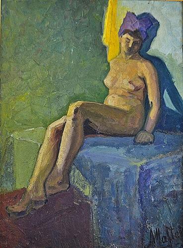 Maftei Adrian ( 1941-1983 ) Modelul - The Model