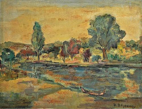 BĂJENARU DAN ( 1900-1988 ) Peisaj - Landscape