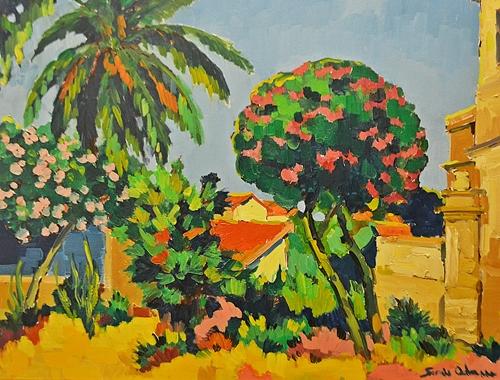 Adam Sorin (1968 - ) Peisaj din Bujuk - Ada II/ Landscape from Bujuk-Ada II. nd