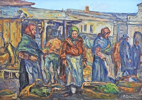 Partog Vartanian (1898-1954) Targovețe / Merchant women