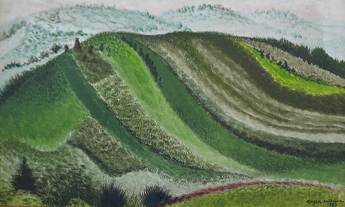 CRĂCIUN EUGEN ( 1922-2001 ) Frumusețea colinei / The beauty of the hill