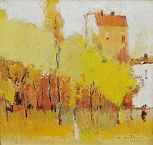 COSTINESCU AUGUSTIN (n. 1943 ) A venit toamna / The autumn has come