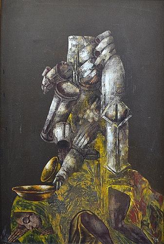 OPREA OVIDIU ( 1958-2007 ) Povara timpului / The weight of time