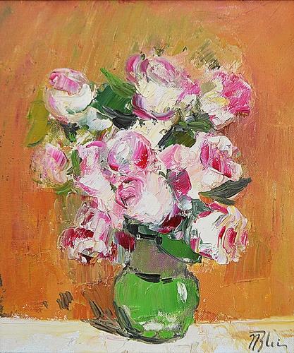 BLEI NICOLAE (n. 1949 ) Trandafiri / Roses