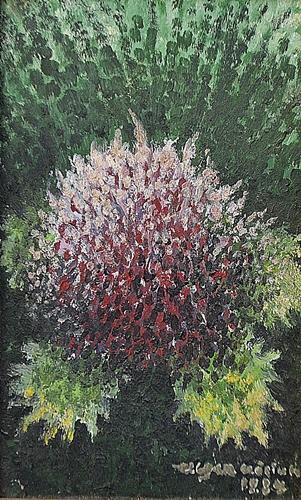 EUGEN CRĂCIUN ( 1922-2001 )  Floare în iarbã / Flower in grass