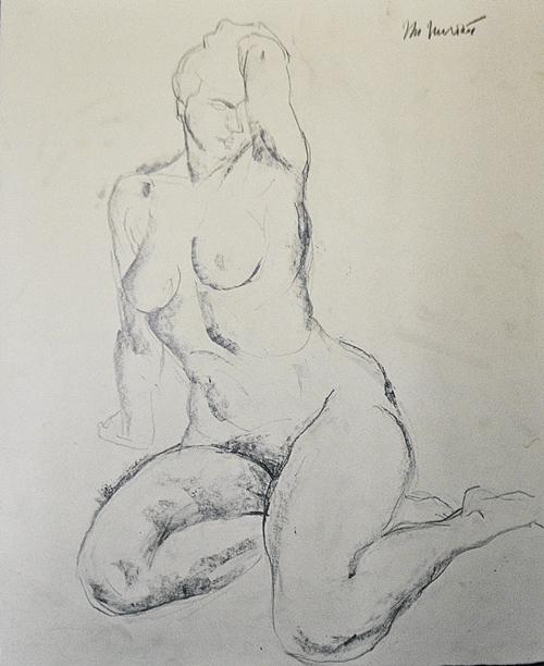 Murariu Marilena (n.1954) Nud 8/ Nude no. 8