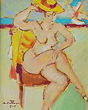 Augustin Costinescu (1943- ) Șezlong/ The Lounge chair