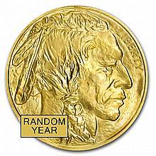 1 oz Gold Buffalo - Random Year