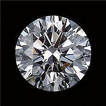 GIARound Diamond Brilliant,0.73ctw,H,I2
