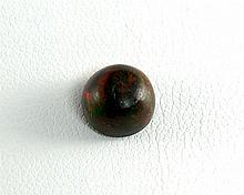 Black Opal Loose GemRound2ctw ,Dim.8mm