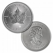 2014 Silver Maple Leaf (25-Coin MintDirect® Tube)