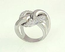 18kw Diamond Ring 2.39ct, G/SI1