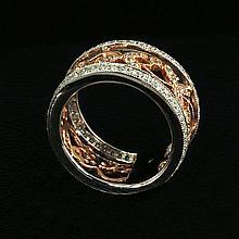 18kw Diamond Ring 1.12ct, G/SI1
