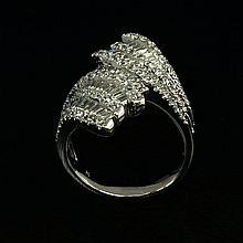 18kw Diamond Ring 1.77ct, G/SI1
