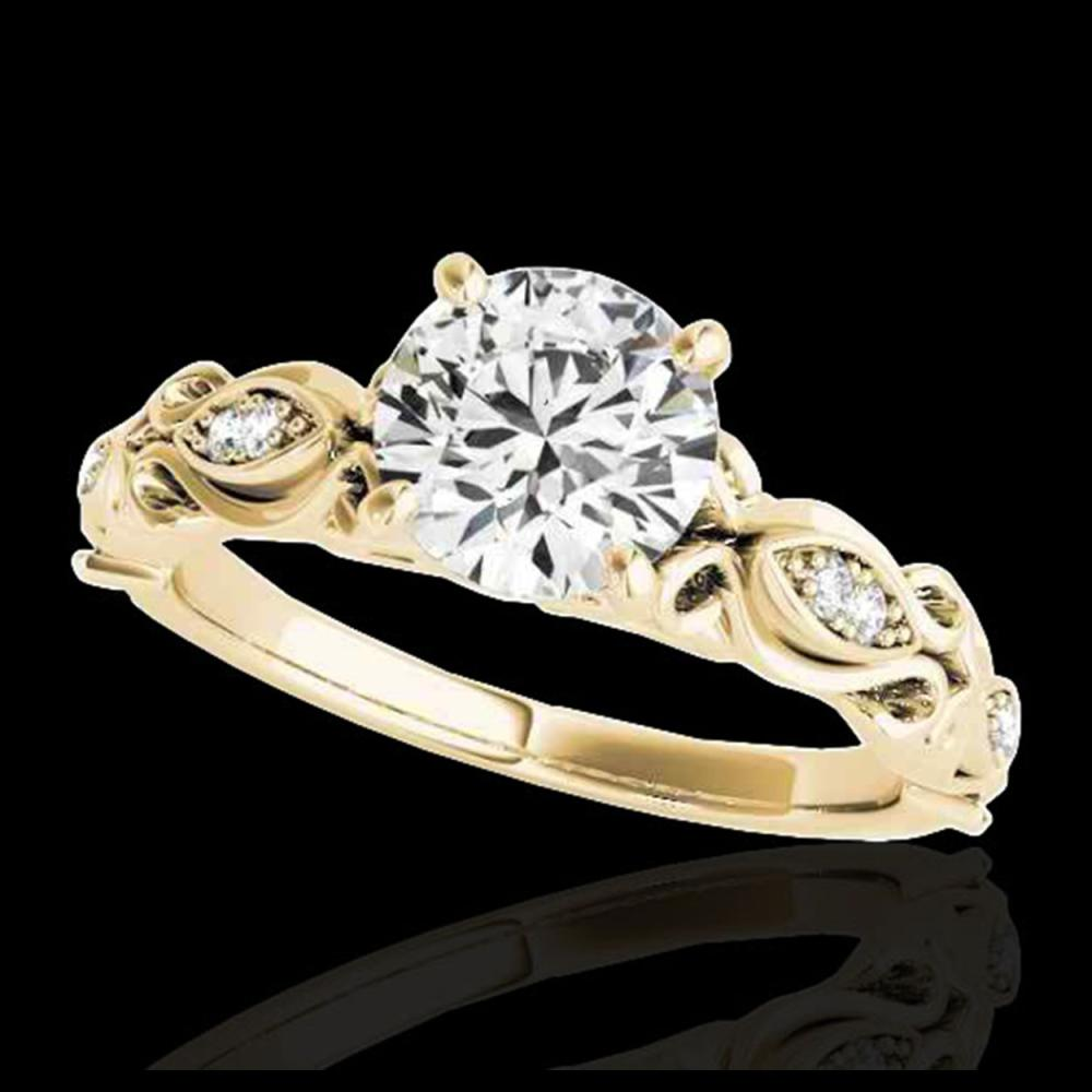 1.10 ctw H-SI/I Diamond Solitaire Ring 10K Yellow Gold