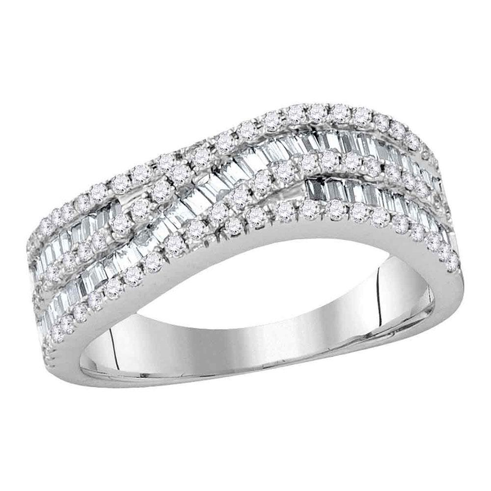 14K Yellow Gold Ring 1.29ctw Diamond