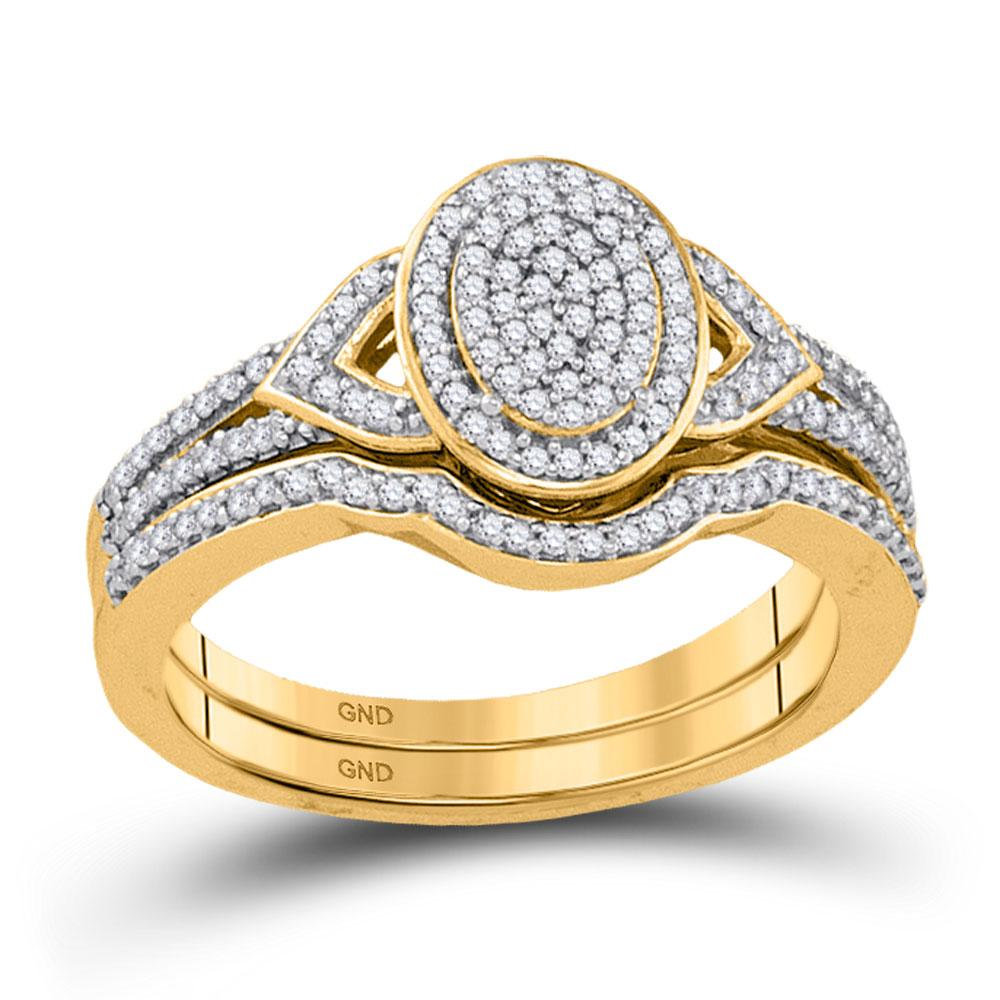 10K Yellow Gold Ring 0.33ctw Diamond
