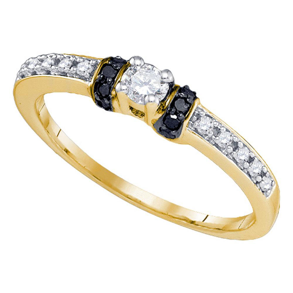 Lot 30071: Diamond Solitaire Bridal Wedding Engagement Ring 10kt Yellow Gold
