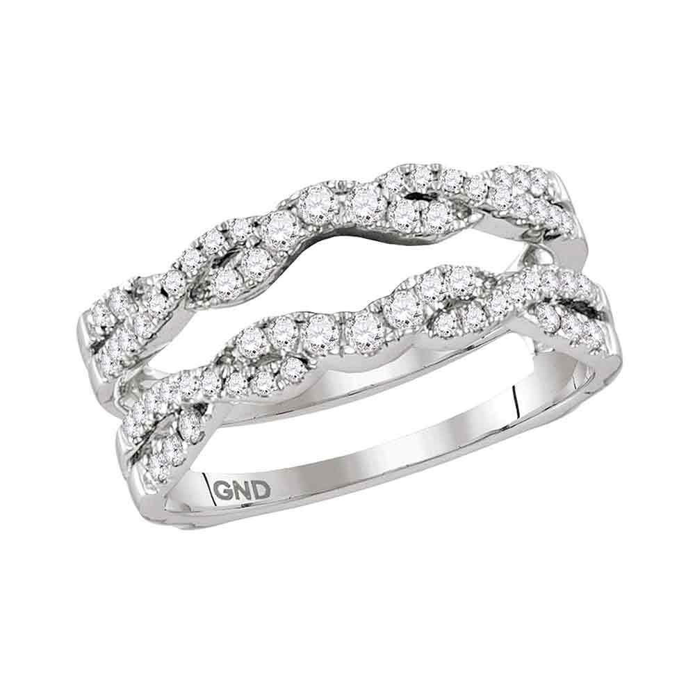 Diamond Ring 14kt White Gold