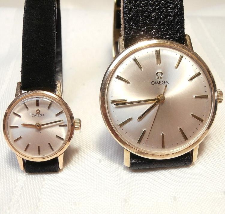 14kt and gold filled omega matching s and s