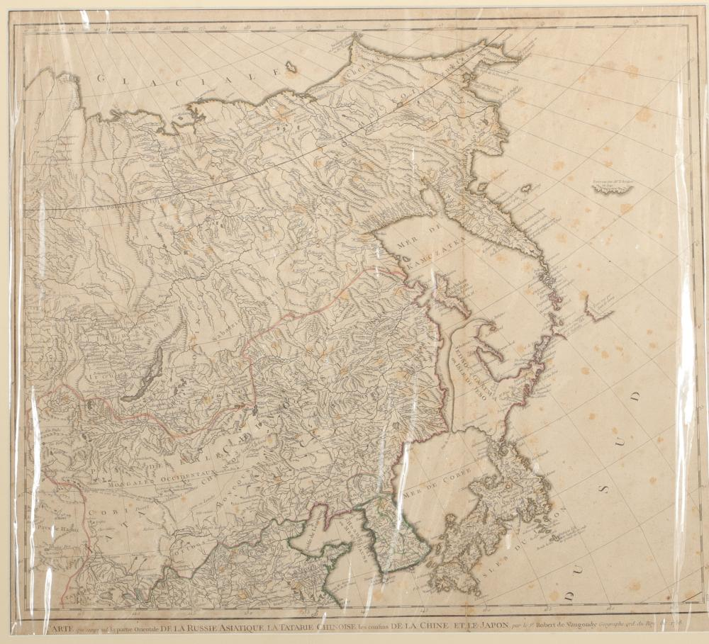Asian Russia Map Sizes: Carte H=525mm L=580mm Weight (K): 0,6kg Condition: at first g