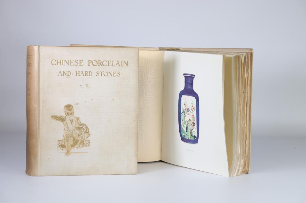 CHINESE PORCELAIN AND HARD STONES, VOL. 1&2 GORER, Edgar and BLACKER, J.F., London: Bernard Q