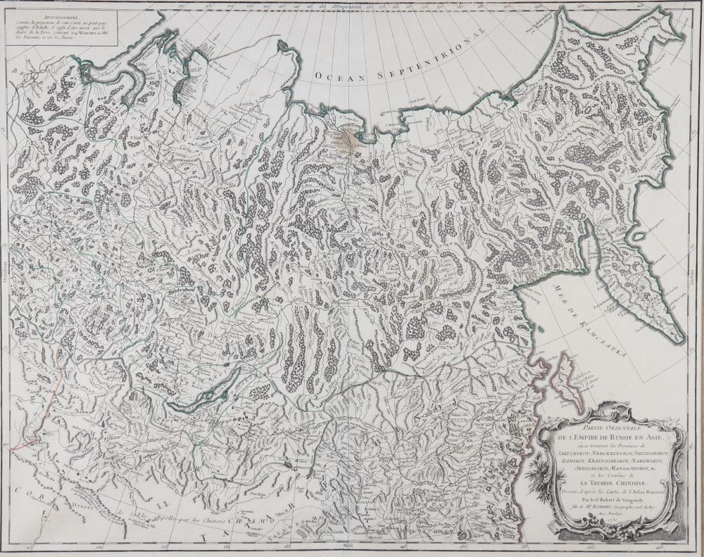 Map of Russia in East Asia Sizes: Cadre L=825mm H=700mm carte L=600mm H=475mm Weight (K):