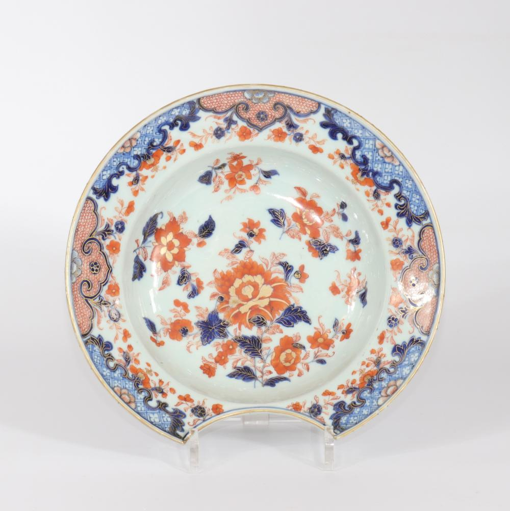 China porcelain beard dish Japanese decor 18th Sizes: D=270mm Weight (K): 0,875kg Con