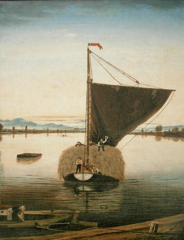 George Vempley Burwood (1844-1917). Fishing vessel