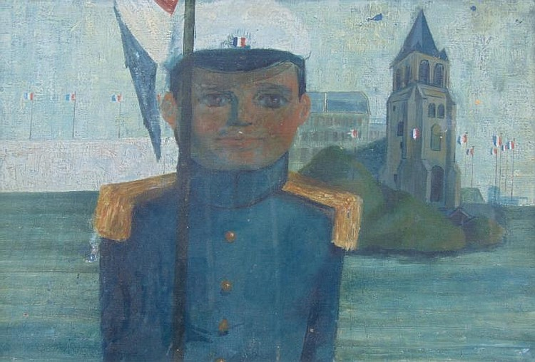 * Jack Hughes (20thC). St Cyr Cadet, oil on