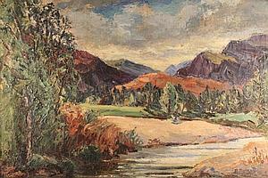 Evelyne Oughtred Buchanan (1883-1979). A
