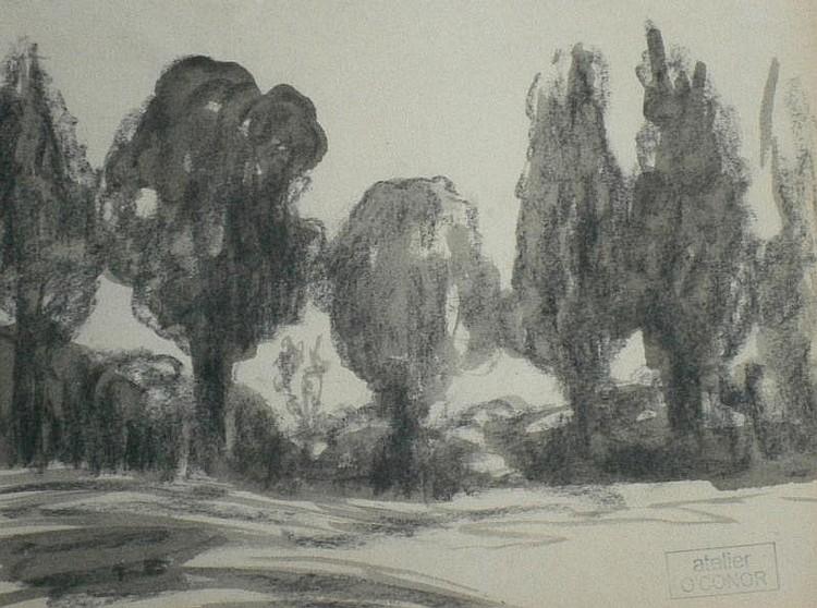 Roderic O'Connor (1860-1940). Woodland landscape,