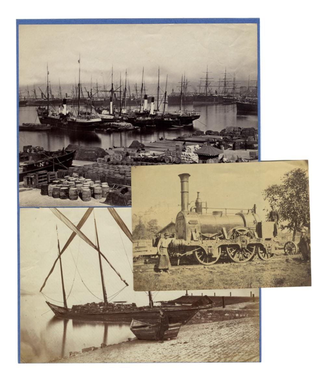 Raccolta di 141 fotografie di S. Casciano, Roma, Firenze e di vari personaggi. Fine XIX – inizio XX secolo.