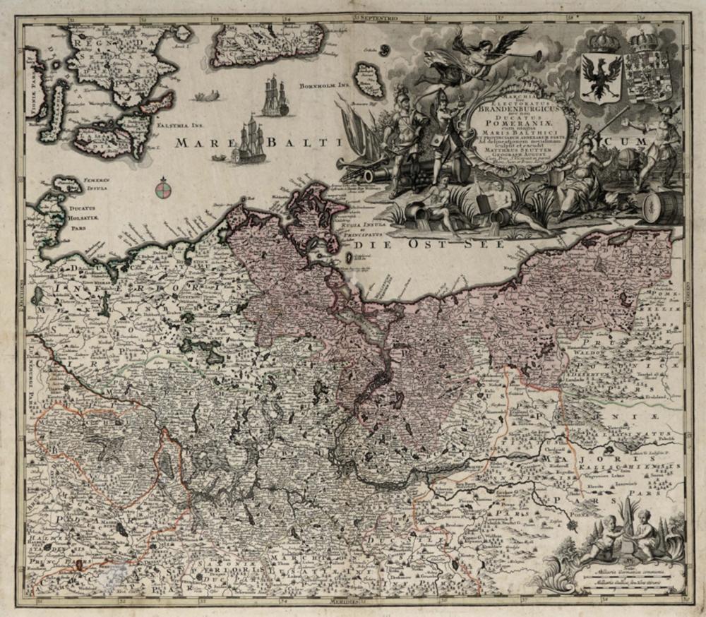 Seutter Georg Mattheus, Quindici carte della Germania. 1730 [1735].