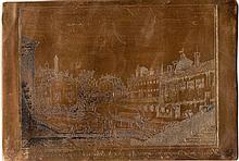 Pio Panfili, Veduta della Dogana nel Canale Naviglio di Bologna dalla parte di mezzogiorno. 1806