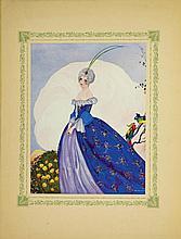 De Musset Alfred, La nuit venitienne; Fantasio; Les Caprices de Marianne. Illustrations de U. Brunelleschi. Paris: L'Éditions d'Art H. Piazza, s.d. [1913].