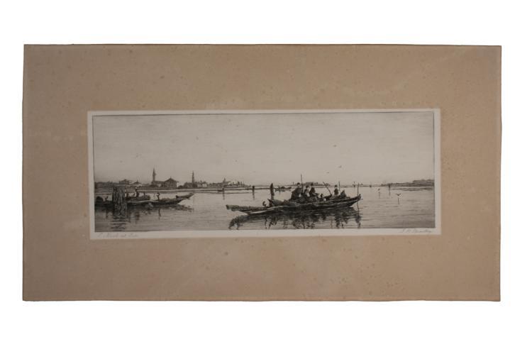 John Henry Bradley (1832 - 1888 ca. ), S. Niccolo del Lido.