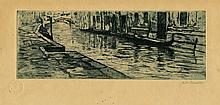 Giuseppe Miti Zanetti (1860 ca. - 1929), Canale veneziano.