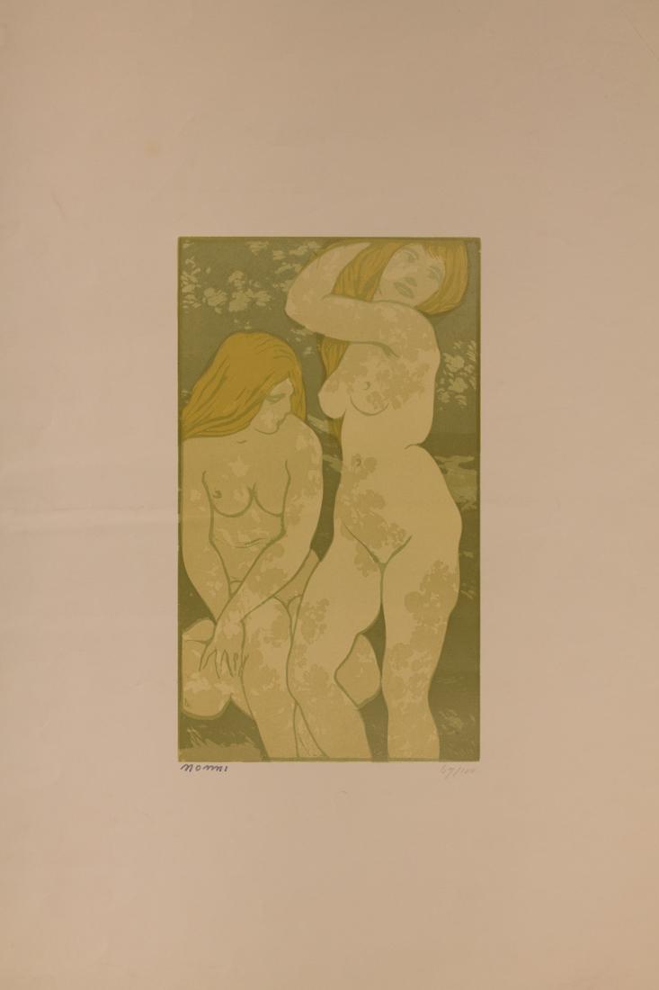 Francesco Nonni (1885 - 1975), Le bagnanti (Nudi al sole). 1914