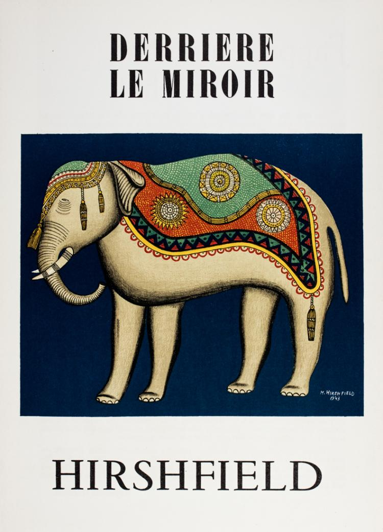 Derriere le miroir paris maeght editeur 1950 1952 for Derriere le miroir