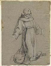 Bartolomeo Cesi, Santo francescano inginocchiato. 1590 ca.