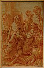 Alessandro Tiarini, S. Martino Resuscita un bambino. 1615-1618.