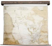A map exhibiting all the new discoveries in the interior parts of North America... additions to 1802.
