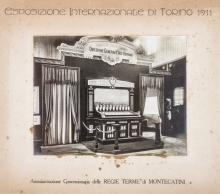 Esposizione Internazionale di Torino 1911. Terme di Montecatini.