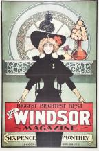 The Windsor Magazine Poster.