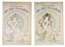 Copertina di Dictionnaire des Arts Décoratives.