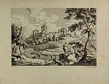 Giuliano Giampiccoli, Paesaggio. Da Marco Ricci. 1775
