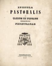 Raccolta di 7 volumi manoscritti contenenti testi di carattere religioso e teologico.  Alcuni datati 1772- 1774.